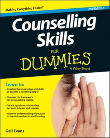 Counselling Skills For Dummies, Paperback Book