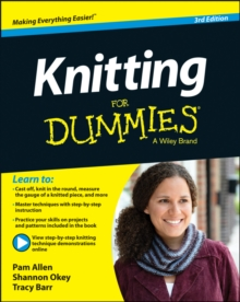 Knitting For Dummies, Paperback Book