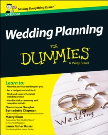 Wedding Planning For Dummies, Paperback Book
