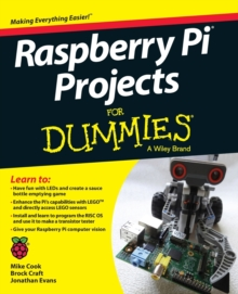 Raspberry Pi Projects For Dummies, Paperback Book
