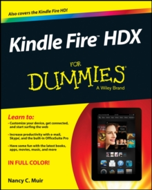 Kindle Fire HDX For Dummies, Paperback / softback Book