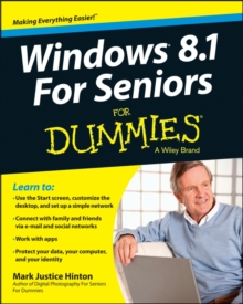 Windows 8.1 for Seniors For Dummies, Paperback Book