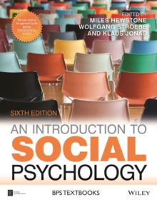An Introduction to Social Psychology, Paperback Book