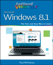 Teach Yourself VISUALLY Windows 8.1, Paperback Book