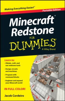 Minecraft Redstone for Dummies, Portable Edition, Paperback Book
