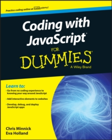 Coding with JavaScript for Dummies, Paperback Book