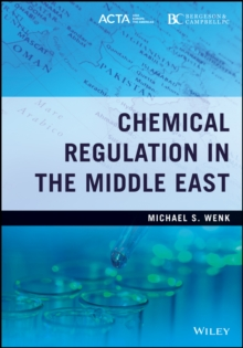 Chemical Regulation in the Middle East, Hardback Book