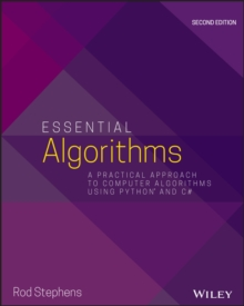 Essential Algorithms : A Practical Approach to Computer Algorithms Using Python and C#, Paperback / softback Book