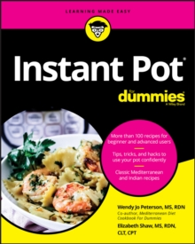 Instant Pot Cookbook For Dummies, Paperback / softback Book