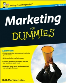 Marketing For Dummies, Paperback Book