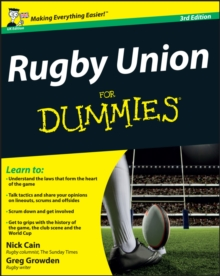 Rugby Union For Dummies, Paperback / softback Book