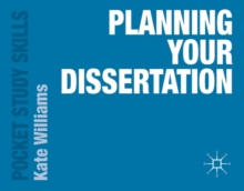 Planning Your Dissertation, Paperback Book