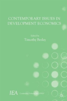 Contemporary Issues in Development Economics, Paperback / softback Book