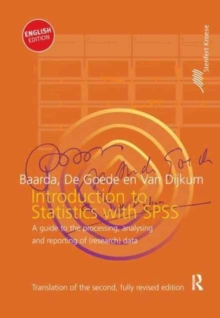 Introduction to Statistics with SPSS, Hardback Book