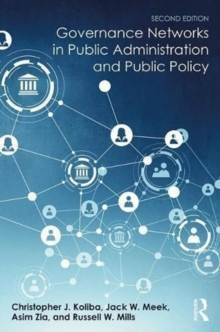 Governance Networks in Public Administration and Public Policy, Hardback Book