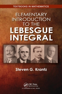 Elementary Introduction to the Lebesgue Integral, Paperback / softback Book