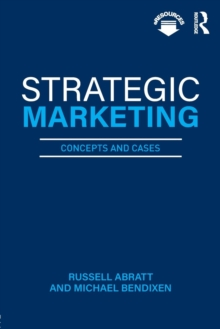 Strategic Marketing : Concepts and Cases, Paperback / softback Book