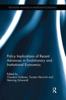 Policy Implications of Evolutionary and Institutional Economics, Paperback / softback Book