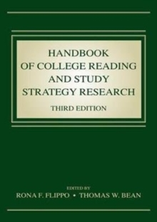 Handbook of College Reading and Study Strategy Research, Paperback / softback Book