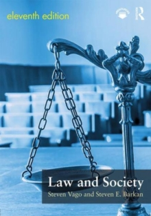 Law and Society, Paperback / softback Book