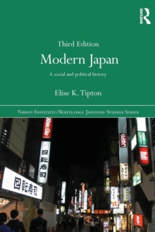 Modern Japan : A Social and Political History, Paperback / softback Book