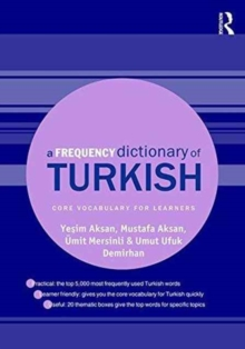 A Frequency Dictionary of Turkish, Paperback / softback Book