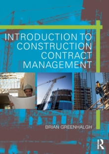Introduction to Construction Contract Management, Paperback / softback Book