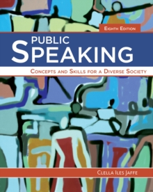 Public Speaking : Concepts and Skills for a Diverse Society, Paperback Book