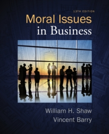 Moral Issues in Business, Paperback Book