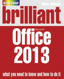 Brilliant Office 2013, Paperback Book