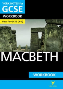 Macbeth: York Notes for GCSE (9-1) Workbook, Paperback Book