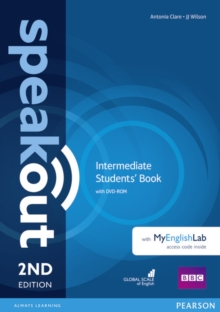 Speakout Intermediate 2nd Edition Students' Book with DVD-ROM and MyEnglishLab Access Code Pack, Mixed media product Book
