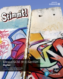 Stimmt! Edexcel GCSE German Higher Student Book, Paperback Book