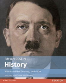 Edexcel GCSE (9-1) History Weimar and Nazi Germany, 1918-1939 Student Book, Paperback Book