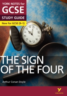 The Sign of the Four: York Notes for GCSE (9-1), Paperback Book