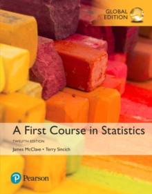 A First Course in Statistics, Global Edition, Paperback / softback Book