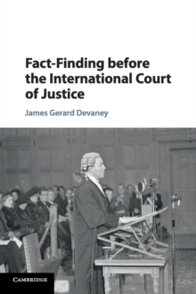 Fact-Finding before the International Court of Justice, Paperback / softback Book