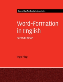 Word-Formation in English, Paperback / softback Book