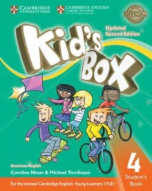 Kid's Box Level 4 Student's Book American English, Paperback / softback Book