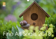 Fine Art Snails 2018 2018 : Funny Snails Around the Year, Calendar Book