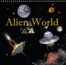 Alien World 2018 : Alien World - Unknown Galaxies., Calendar Book