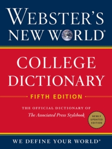 Webster's New World College Dictionary, Fifth Edition, Hardback Book