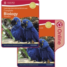 Cambridge International AS & A Level Complete Biology Enhanced Online & Print Student Book Pack