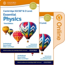 Cambridge IGCSE (R) & O Level Essential Physics: Print and Enhanced Online Student Book Pack Third Edition