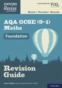 Oxford Revise: AQA GCSE (9-1) Maths Foundation Revision Guide, Paperback / softback Book