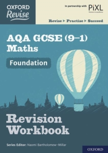Oxford Revise: AQA GCSE (9-1) Maths Foundation Revision Workbook, Paperback / softback Book