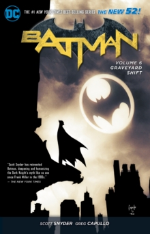 Batman TP Vol 6 Graveyard Shift (The New 52), Paperback Book