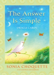 The Answer Is Simple Oracle Cards, Cards Book
