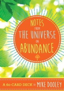Notes from the Universe on Abundance : A 60-Card Deck, Cards Book