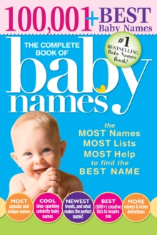 Complete Book of Baby Names, Paperback / softback Book